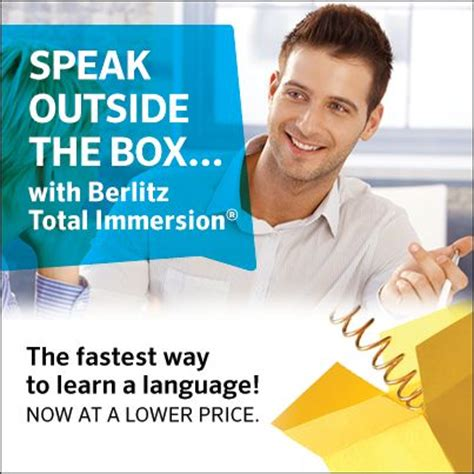 Learn A Language The Fast Way With Earworms by Berlitz Total Immersion Is The Fastest Most Way