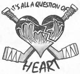 true at heart tattoo hockey heart by truebeliever92 on deviantart