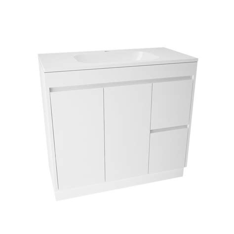 bathroom vanity bunnings marbletrend 900 x 455mm flinders vanity unit 1th bunnings