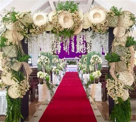Wedding Backdrop Design Philippines by Wedding Theme Inside The Church Trip To The