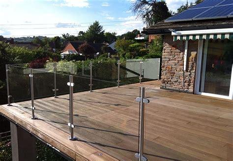 veranda railing stainless steel post handrail glass veranda railings