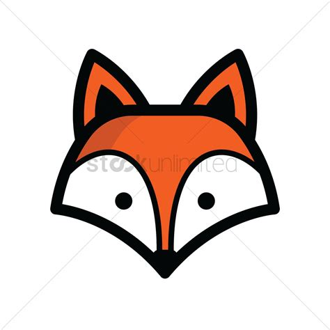 clipart vector of vector image of two floored house with fox head vector image 1821324 stockunlimited