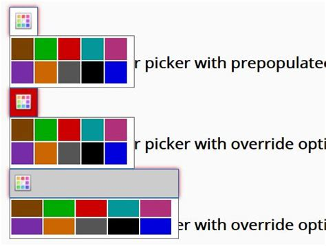 color palette picker tiny html5 jquery color picker plugin palette color