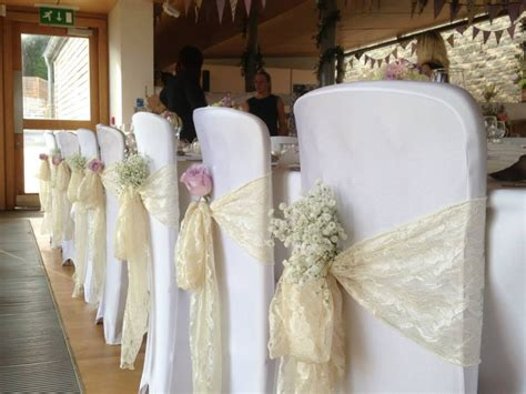 chair cover bows for weddings wedding chair sashes search baby s breath tucked