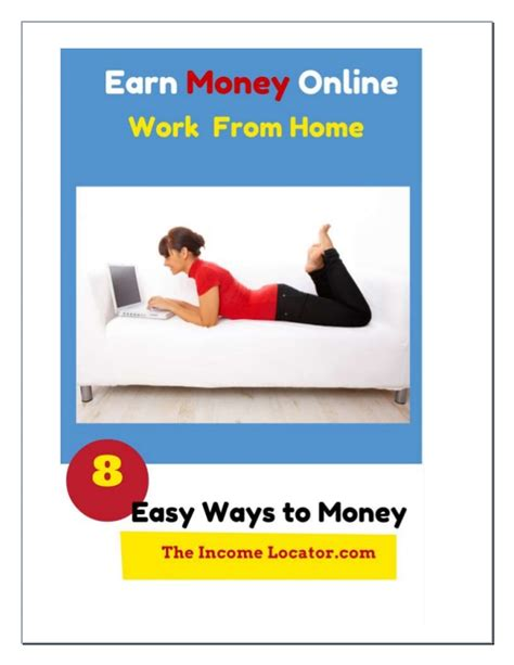 Make Money Online Work - earn money online work from home