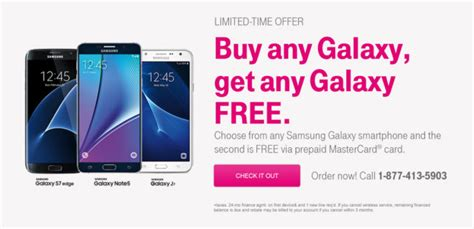 Samsung Galaxy S10 1 Promotion by T Mobile Offering Buy One Get One Free Deal On All Samsung Galaxy Smartphones Tmonews