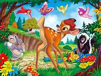 Cute Bambi Wallpaper  Disney