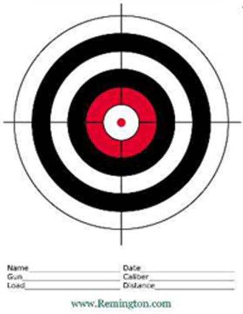 printable targets pdf free paper shooting targets