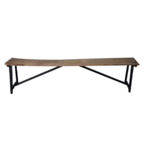 bench back angle angle industrial solid wood garden bench 2m