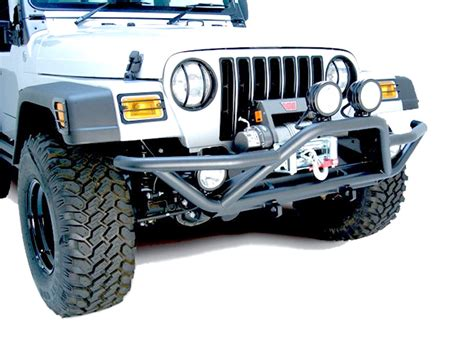 rugged ridge rock crawling front bumper