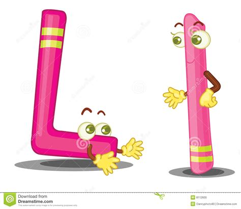 L For by Letter L Stock Photo Image 8112600