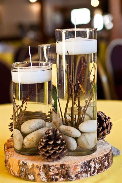 Wedding Centerpiece No Flowers by Best 25 Winter Table Centerpieces Ideas On