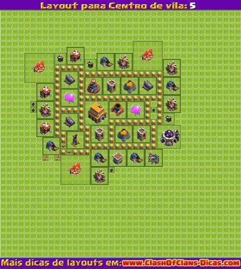 layout cv nv 5 melhores layouts para centro de vila 5 clash of clans
