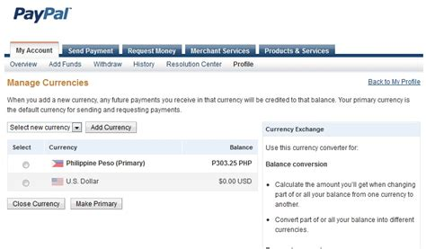 currency converter usd to php how to convert usd to php paypal funds