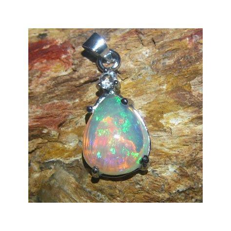 Liontin Batu Opal liontin perak batu opal kalimaya pelangi afrika 3 16 carat