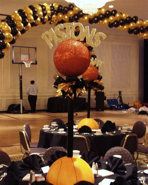 12 best diy basketball theme party centerpieces