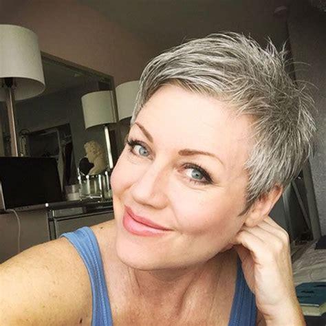 17 best ideas about short gray hair on pinterest short pixie transition to gray best 25 short grey haircuts ideas