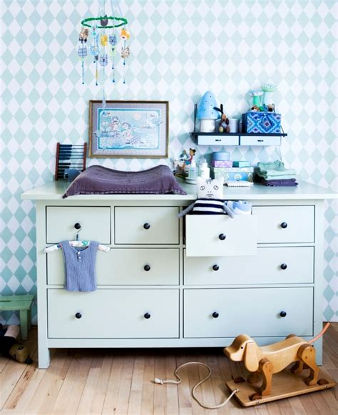 Idea For Changing Table Ikea S Hemnes Kids Pinterest Ikea Baby Dresser Changing Table