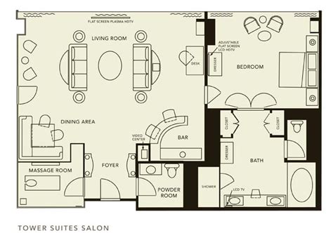 salon suites layout wynn hotel rooms