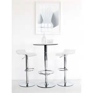 Glass Bar Table And Stools Breakfast Poseur Tables Exhibition Tables Glass Wood Fixed Height Bar Tables