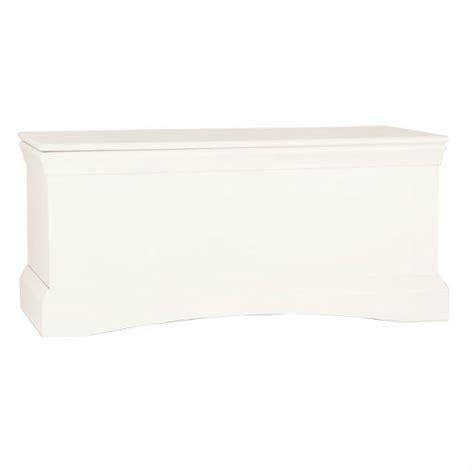 Quebec Ottoman Storage Box In Cream 14132 Furniture In White Ottoman Storage Box