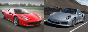 Porsche Vs 458 Italia Or Porsche 911 Fiat S World