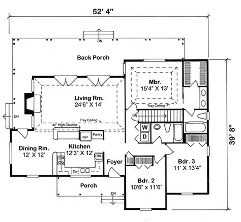 traditional farmhouse floor plans house plan 10748 at familyhomeplans com