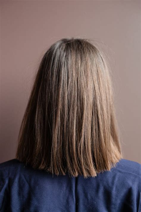 shoulder length blunt cut back view blunt bob 35 top bob hairstyles for 2015 to