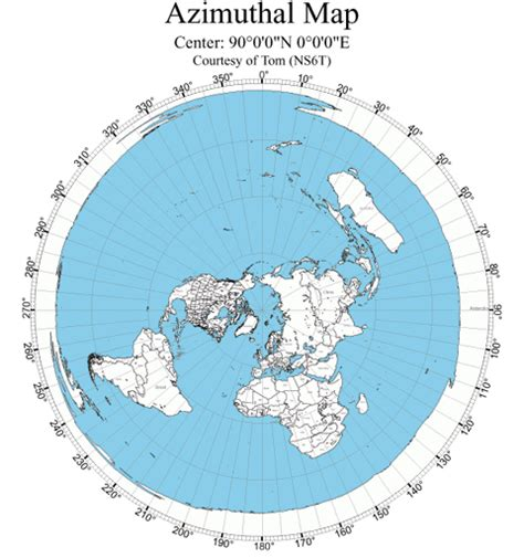 flat earth equidistant map projection maps prove the flat earth deception equidistant map