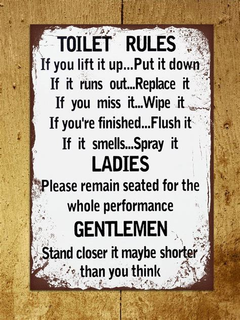 funny bathroom plaques 17 best ideas about bathroom signs funny on pinterest
