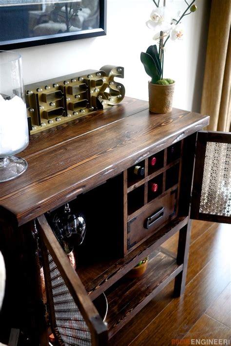 bar cabinet diy home bar bar furniture diy bar