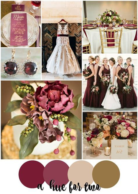 Wine Inspired Wedding   Burgundy, Bordeaux, Marsala, Cream
