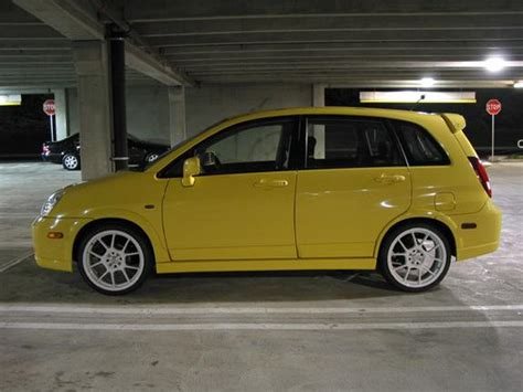 Suzuki Aerio Modified Yellow Sx 2002 Suzuki Aerio Specs Photos Modification
