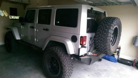 Jeep Wrangler Unlimited 3rd Row Seating Purchase Used 2012 Jeep Wrangler Unlimited Silver 3 5