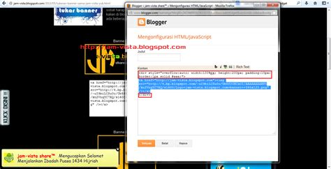 cara membuat widget jam di blog wordpress cara membuat scroll pada widget gagdet blog jam vista share