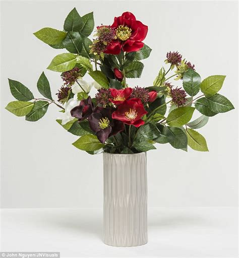 Plastic Flowers In Vase by Which Flowers Aren T Naff Daily Mail