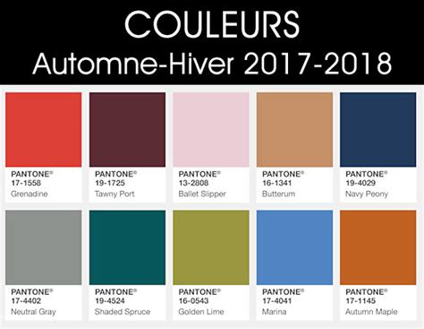 new colors for 2017 ad couleurs automne hiver 2017 2018 taaora blog mode