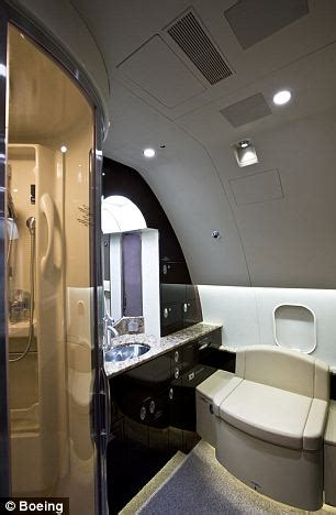 60 X 28 Bathtub Inside A 80 Million Customized Boeing Business Jet
