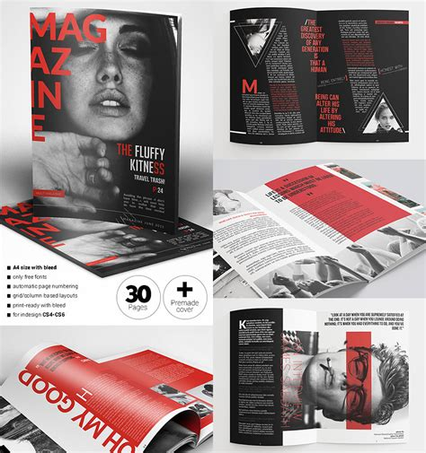 20 magazine templates with creative print layout designs 20 magazine templates with creative print layout designs