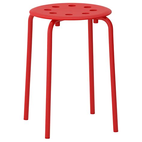 marius stool red ikea