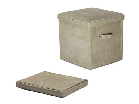 ottoman pad seat pad folding storage ottoman