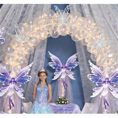 Set Lilin Purple quinceanera themes beautiful butterflies their way into your quinceanera this 9 ft