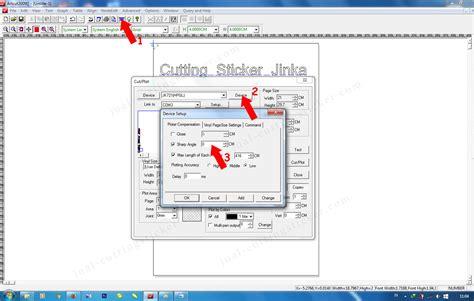 Mesin Cutting Jinka cara setting cutting jinka harga jual mesin cutting