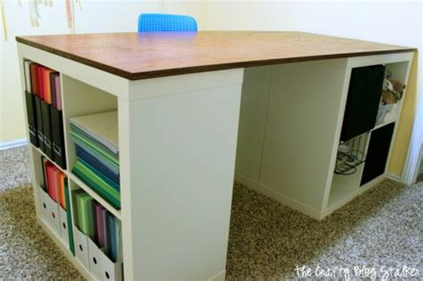 diy craft table ikea how to make a custom craft table the crafty stalker
