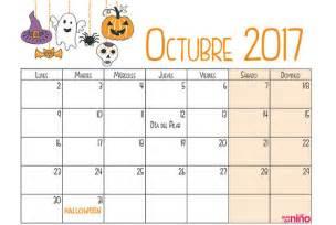 Calendario Octubre 2018 Octubre Calendario Escolar 2017 2018 Para Imprimir