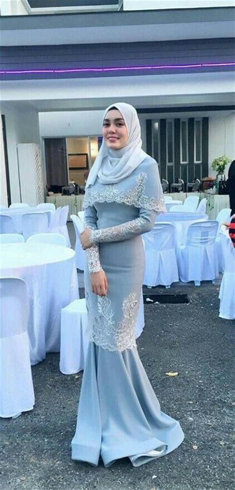 Pakaian Baju Muslim Wanita Maxi Kaftan Elegance Eliza White 1105 Best Images About Kebaya Baju Kurung On