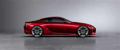 lexus red paint code lexus lc exterior color radiant red contrast layering