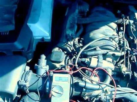 how to check your crankshaft position sensor on a bmw 740
