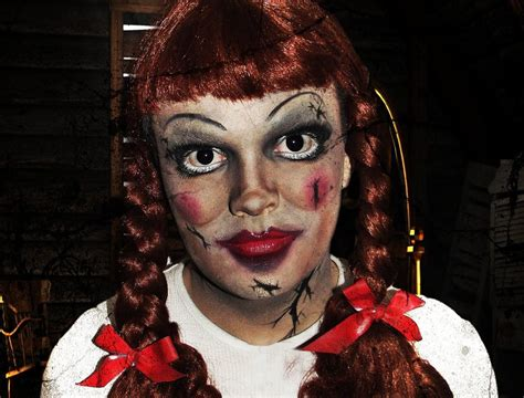 annabelle doll halloween makeup hd makeup tutorial for the annabelle doll from the movie