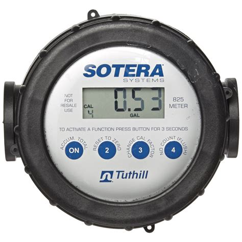 Flowmeter Fill Rite Made In Usa Size 1 1 2 fill rite tuthill 825 20 gpm digital flow meter with lcd